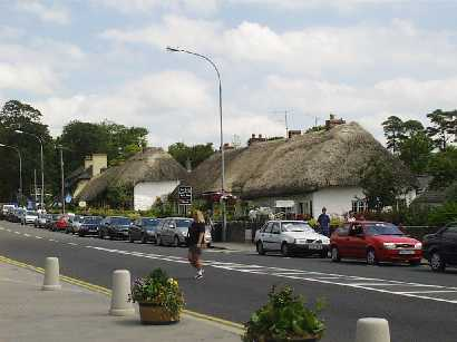 Thatched Cottages in Adare Village