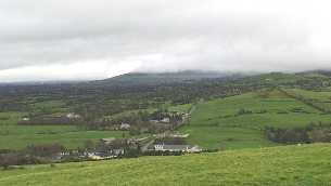 View of Ardpatrick from Ardpatrick hill