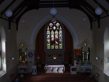 Bruff Church interior