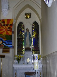 Side Altar to Our Lady