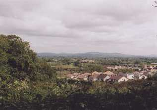 View of Monaleen from Monaleen church