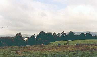 View of surrounding countryside from Kilquane graveyard